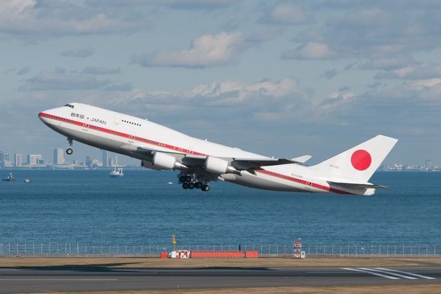 航空自衛隊 B-747政府専用機