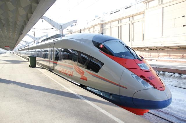 2011.2.1 ロシア、サンクトペテルブルク・モスコフスキー駅にて